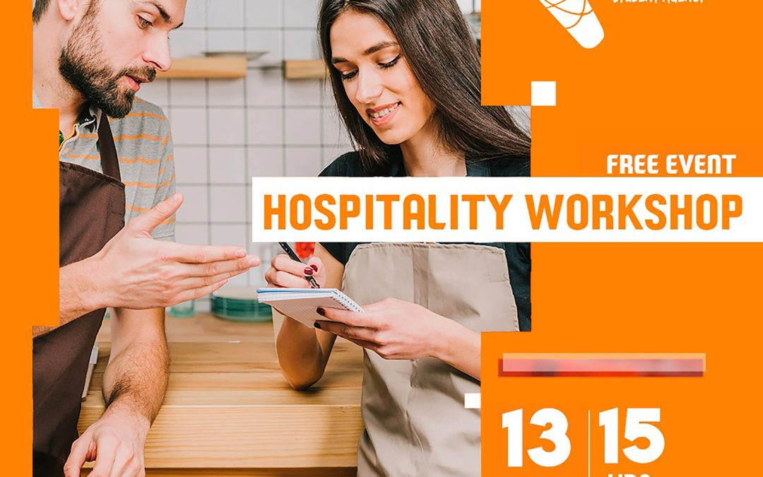 Hospitality Workshop 13th September